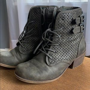 Roxy 'combat' boots, army green